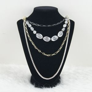 Fossil   Silver Necklace